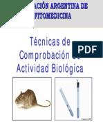 Tecnicas Comprobacion Actividad Biologica