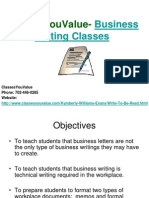 Business Writing Classes