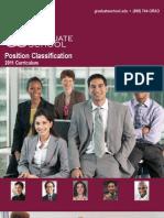 Position Classification Brochure