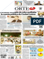 Periodico Norte de Ciudad Juárez 30 de Septiembre de 2013