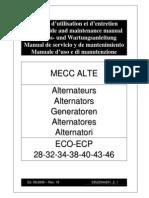 Alternador Mecc Alte Spa