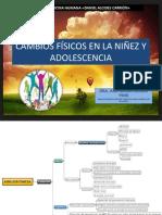 CAMBIOS FÍSICOS EN LA NIÑEZ Y ADOLESCENCIA