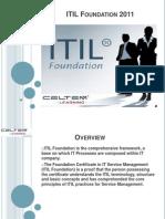ITIL Foundation Workshop