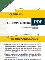 CAPÍTULO V  El Tiempo Geológico