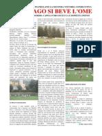 Giovanissimi 1999 Ome vs Gussago Calcio 2-4