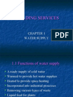 Chapter i Water Supply 1