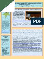 NAMHHR E-newsletter Issue 9(Apr- Aug 2013)