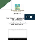 Practica 6 QuimicaORGANICA