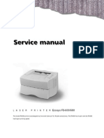Kyocera Service Manual FS-600