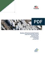Bitumen Project-review of Environmental Factors