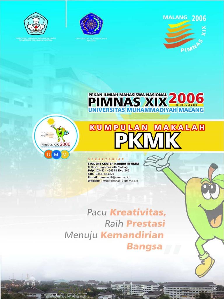 Kumpulan Makalah Pkmk Pimnas Xix 2006 Umm Malang 2395ae1f6b
