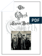 The Opeth Lyrics Archive [R5 April 2010]