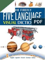 Five Language Visual Dictionary