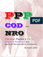 All About PPP, COD and NRO in Pakistan by Syed Jaffer