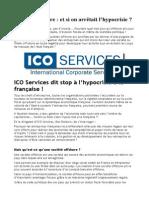 ICO Services, le spécialiste de l'offshore