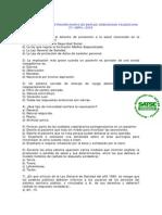 Examen OPE Extraordinaria Comunidad Valenciana (Celebrado 27042003)