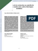 Méthodes de recherche en contrôle  GESTION