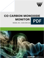 CO Carbon Mono Oxide Monitor