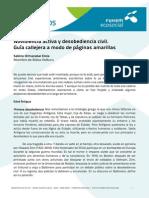 Noviolencia Activa y Desobediencia Civil S ORMAZABAL