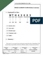 GSM Antenna 850 1900