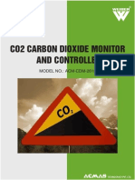 CO2 Carbon Dioxide Monitor and Controller