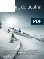 Austria tourism - 2012