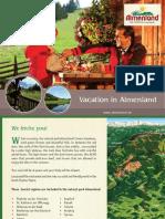 Vacation in Almenland