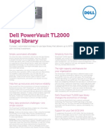 PowerVault TL2000 Tape Library Spec Sheet