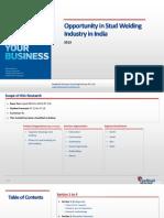 Opportunity in Stud Welding Industry in India_Feedback OTS_2013