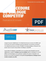 Procedure Dialogue Competitif France Marches