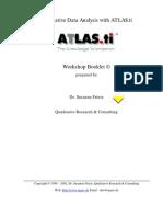 Atlasti Workshop Manual English