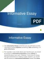 informative essay pp