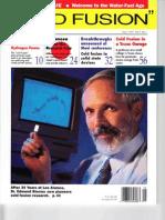Cold Fusion Magazine - Issue 1 - 1994