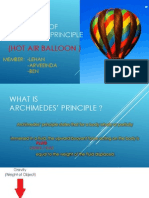 Application of Archimedes' principle - Powerpoint