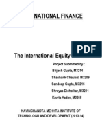 International Equity Market pdf.docx