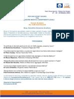 18/10/2013 Per uno Sport Sicuro tra Valutazione Medica e Adempimenti Legali