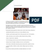 Dislexia e o Processo de Aprendizagem
