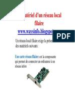 Microsoft PowerPoint - presentation Le matériel d'un réseau local