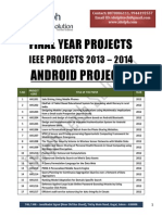 IEEE Project Titles 2013-2014(iDolph Tech Solution)