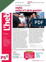 Hebdo#707 Emploi chantier n°1 de la gauche