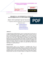 Theoretical and Experimental Studies on Magnetorheological Fluid Damper With Dc Input