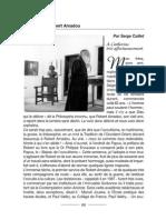 Hommage a Robert Amadou Par Serge Caillet Initiation 2 2006