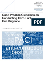 WEF PACI ConductingThirdPartyDueDiligence Guidelines 2013