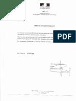 Certificat Admin Antai 2010