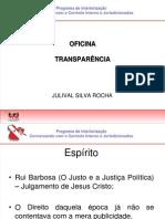 03  Julival-Transparência Apresentação