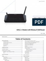 Dlink Dsl-2740b Manual Us