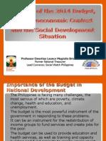 Analysis on 2014 Budget