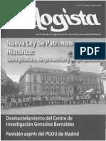 Nueva Ley de Patrimonio