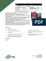 Descripcion Panel Frontal y Funciones Equipo 185 Tsw