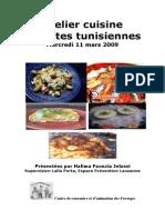 Atelier Cuisine Tunisienne 11-03-09